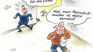 Digitalisierung Illustration Comic