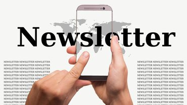 News Newsletter Smartphone digital
